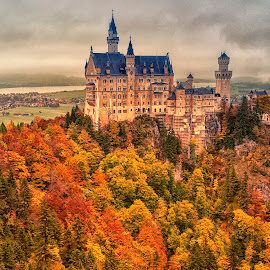 Neuschwanstein by Stanley P. - Buildings & Architecture Other Exteriors