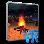 Campfire VR Cardboard Icon