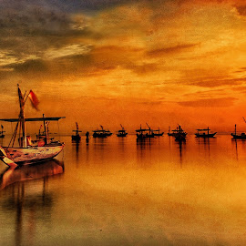 by Dida Melana - Transportation Boats