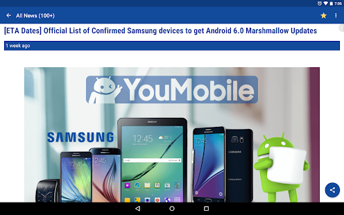 how to search for updates on android phone