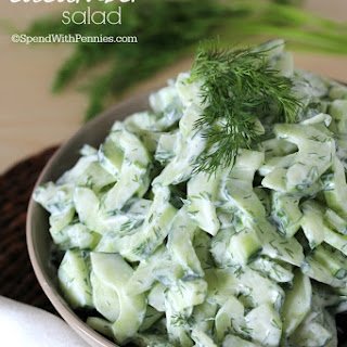 Creamy Cucumber Dill Dressing Recipes