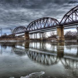 River Beneath  by Patricia  Yocum - Buildings & Architecture Bridges & Suspended Structures