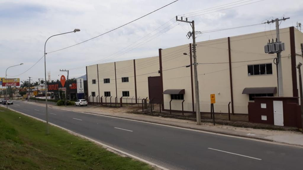 Galpão para locação na BR 101 em Tijucas - 3170m²