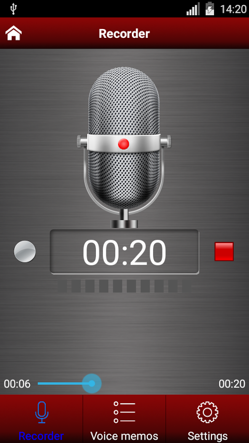 Voice recorder pro Screenshot 4