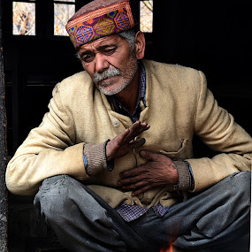 by Ajay Mehta - People Portraits of Men