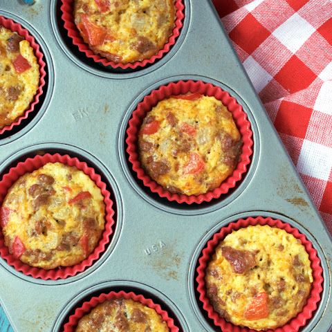 Spicy Breakfast McMuffins from Paleo for One