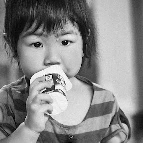 yougurt by Sandy Boentarya - Babies & Children Child Portraits
