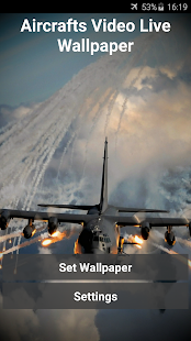 Aircrafts Video Live Wallpaper