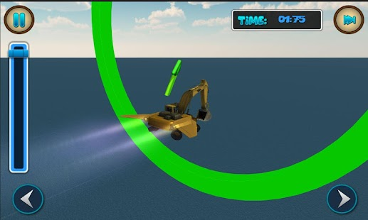 Flying Excavator Simulator 3D - screenshot