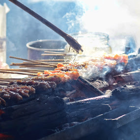 Stick Barbeque by Syafizul  Abdullah - Food & Drink Meats & Cheeses