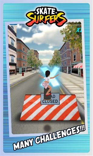 Skate Surfers Free screenshot 8