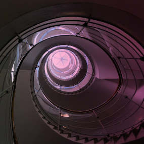 Stairs by Leif Holmberg - Buildings & Architecture Architectural Detail ( stairs, finland, architecture, turku, oval,  )