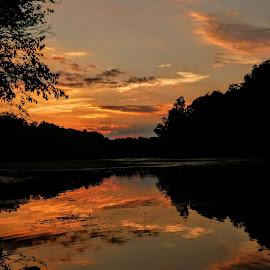 Sunset by Jen Henderson - Landscapes Sunsets & Sunrises (  )