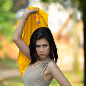 Sambit by Agus Mulyawan - People Portraits of Women