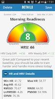 Screenshot of Elite HRV