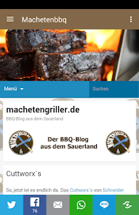 Machetengriller BBQ Blog - screenshot