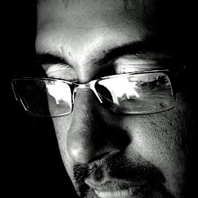 BE SERIOUS................. by Arunabha Kundu - People Portraits of Men ( pratiki, partha, arijit, arnab, dipankar )