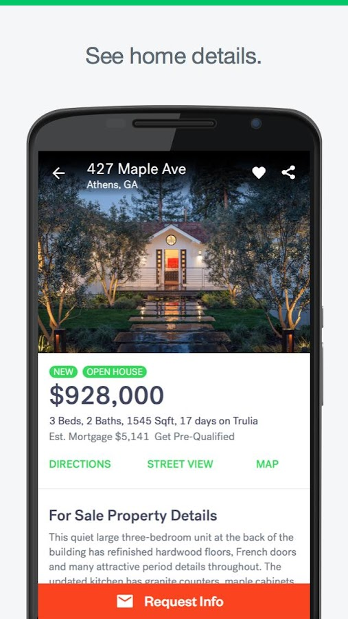Trulia Real Estate & Rentals Screenshot 1