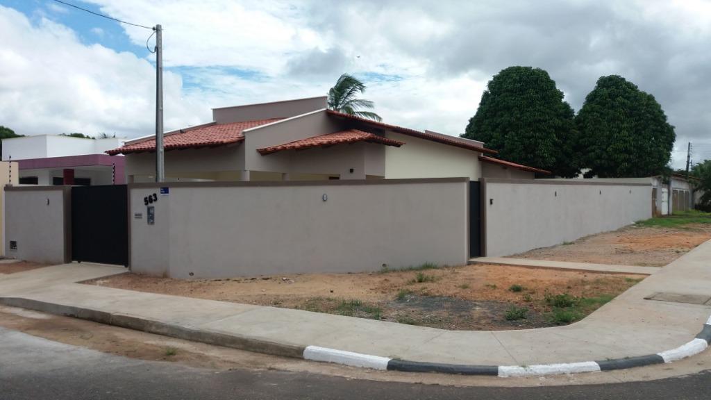 Casa com 3 dormitórios à venda, 139 m² por R$ 480.000 - Paraviana - Boa Vista/RR