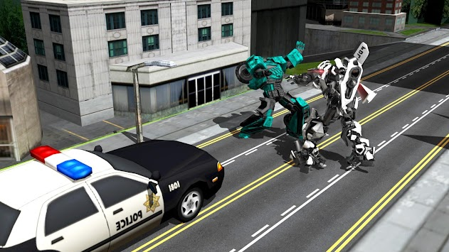 Robots War In City APK screenshot thumbnail 6