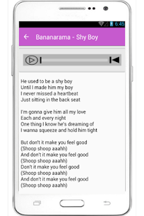 Bananarama Lyrics Venus - screenshot