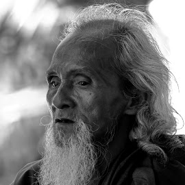 Men in Black and White by Aung Kyaw Soe - People Portraits of Men (  )