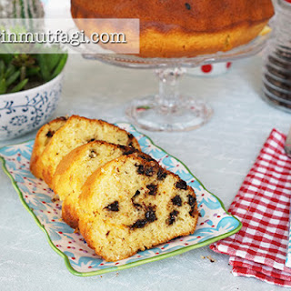 Chocolate Chip Pound Cake With Orange Zest