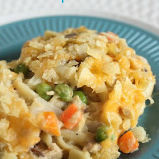 Easy Potato Chip Tuna Casserole