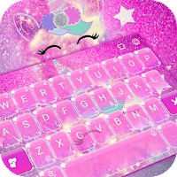 Pink Unicorn Keyboard Theme on PC / Windows 7.8.10 & MAC