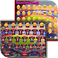 Barcelona Keyboard Emoji APK for Bluestacks