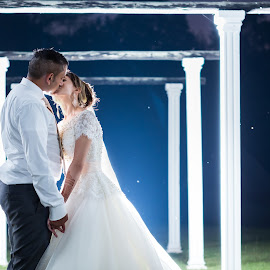 Night by Lodewyk W Goosen (LWG Photo) - Wedding Bride & Groom ( wedding photography, wedding photographers, wedding day, weddings, wedding, couple, wedding photographer, bride and groom, bride, groom, bride groom )