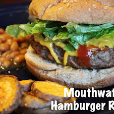 Mouthwatering Hamburger