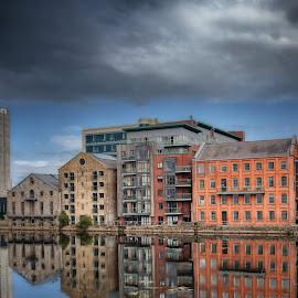 Dublin Docklands by Paul Holmes - Buildings & Architecture Other Exteriors ( nikon d700 .nikon 35mm f2 lens .dublin )