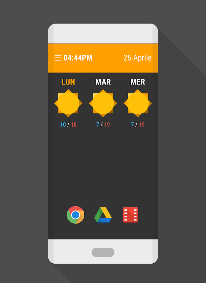 PLASTIX - WIDGET ZOOPER Screenshot 1