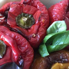 by Clara Scarano Scubla - Food & Drink Fruits & Vegetables ( peppers, red, cooking )