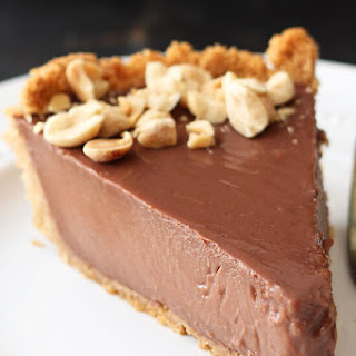 Chocolate Peanut Butter Pudding Pie