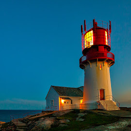 Lindesnes Lighthouse. by John Aavitsland - Buildings & Architecture Public & Historical