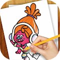 Game Learn to Draw Trolls APK for Windows Phone