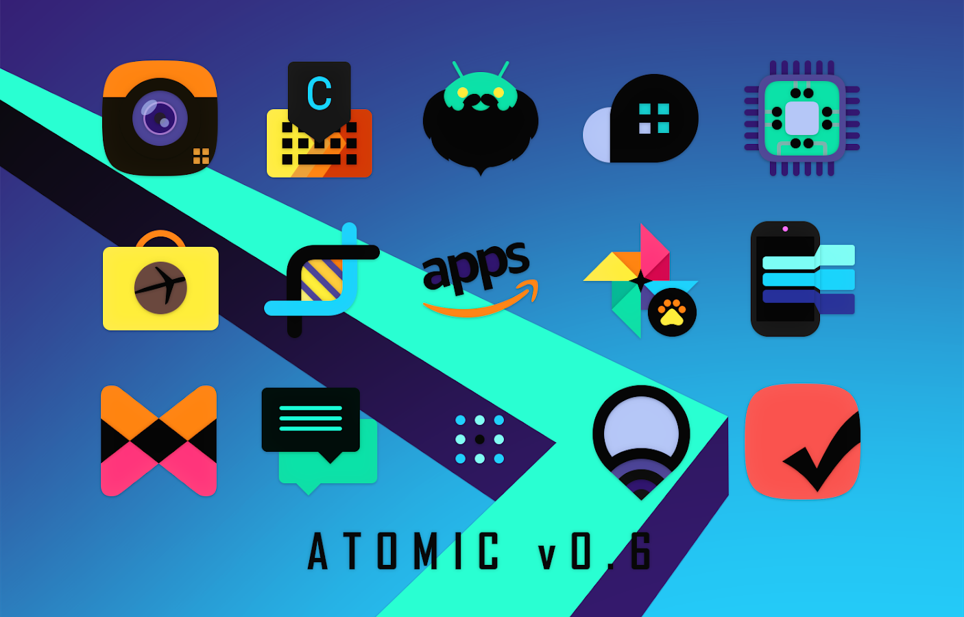 Atomic Icon Pack Screenshot 2