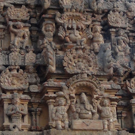 Temple Architecturre by Leelamohan Anantharaju - Buildings & Architecture Architectural Detail ( tanjore,  )