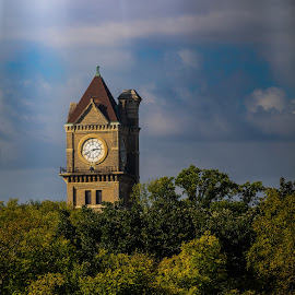 What Time is It? by Angie Kanak - Buildings & Architecture Public & Historical (  )