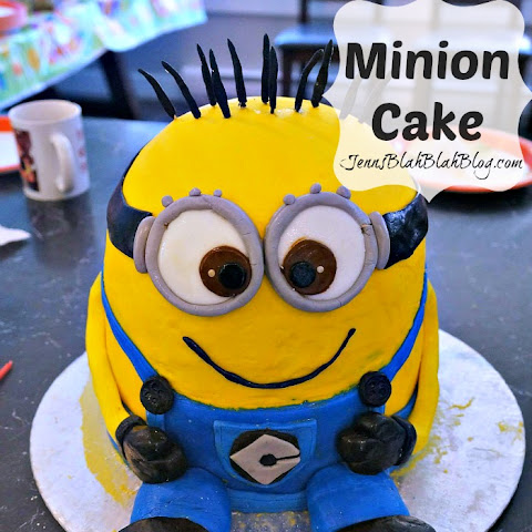 How to make a Minions Cake | DIY Minions Cake