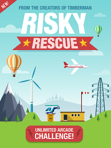 Risky Rescue - screenshot