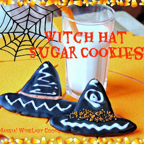 Witch Hat Sugar Cookies