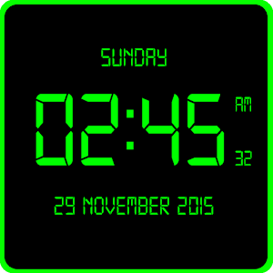 LED Digital Clock LiveWP For PC (Windows & MAC)