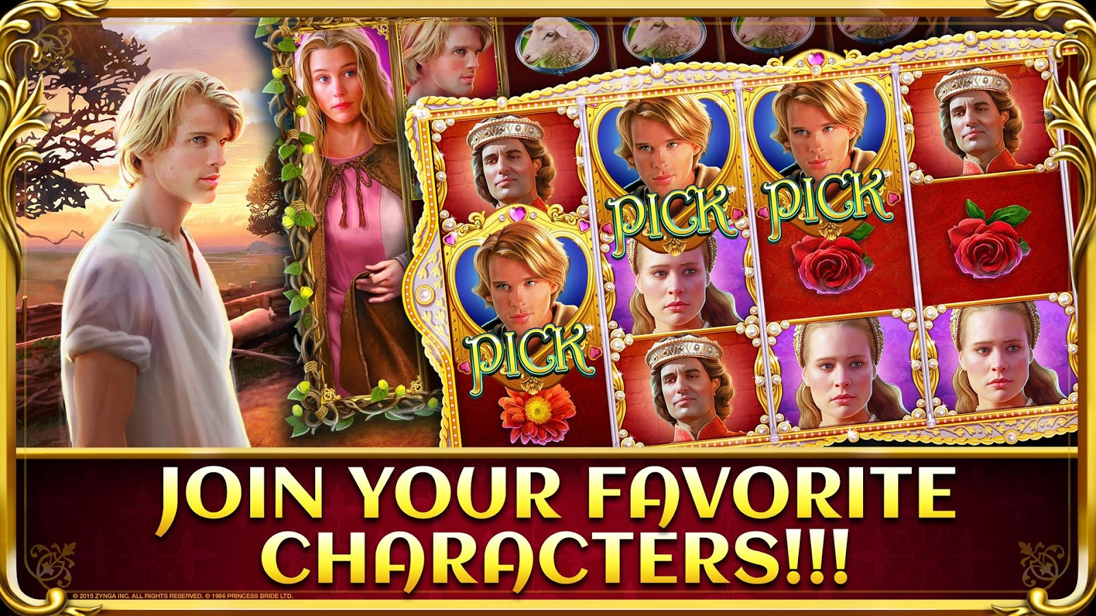 Princess Bride Slots Casino Screenshot 1