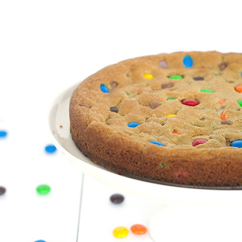 M&M Candy Cookie Pie