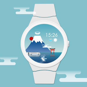 Fuji Watch Face