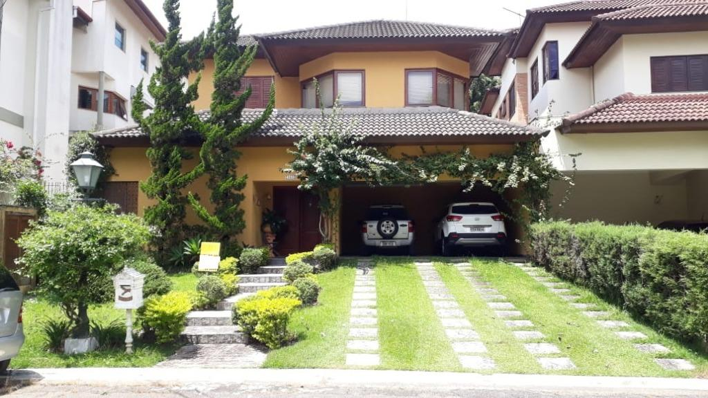 Casa mobiliada, 3 suítes, piscina, churrasqueira, Aldeia da Serra, Barueri
