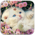 Game Tile Puzzle Cats apk for kindle fire